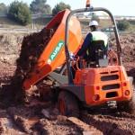 AUSA_Dumper_3500kg_D350AHG_Descarga_barrizal