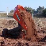 AUSA_Dumper_3500kg_D350AHG_Descarga_tierra